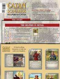 Catan Scenario : Helpers of Catan