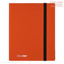 Pro Binder Eclipse 9-Pocket Pumpkin Orange