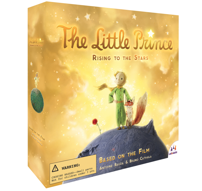 The Little Prince Rising to the Stars
