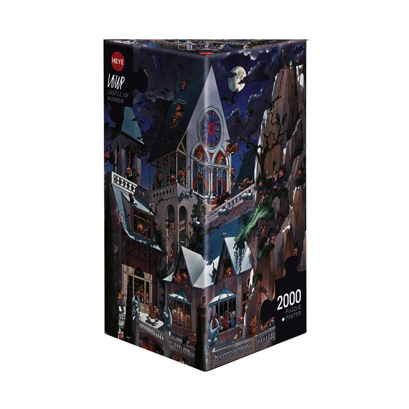 Heye 2000 pzs. DEGANO, Castle of Horror