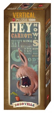 Heye 1000 pzs. ZOZOVILLE, Carrot