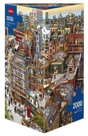 Heye 2000 pzs. GOBEL & KNORR, Sherlock & Co.