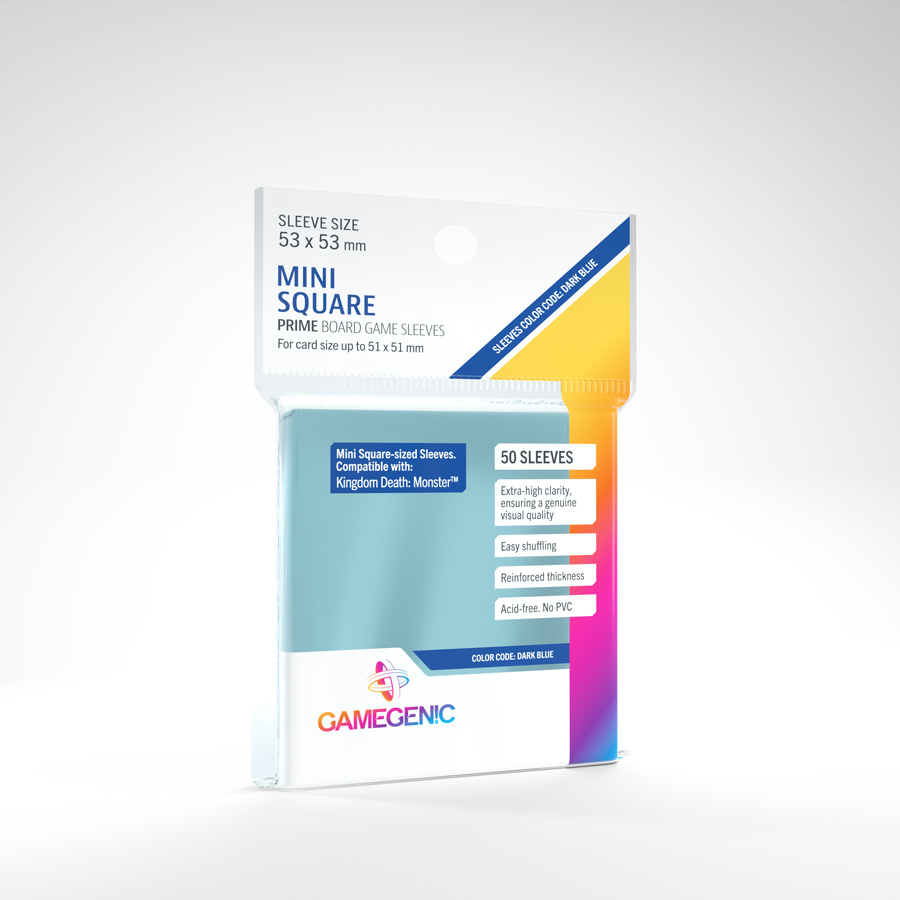 Fundas Gamegenic Mini Square (53x53) (50)