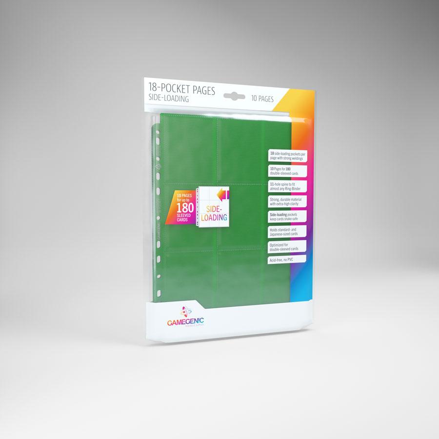 Sideloading 18-Pocket Page Green
