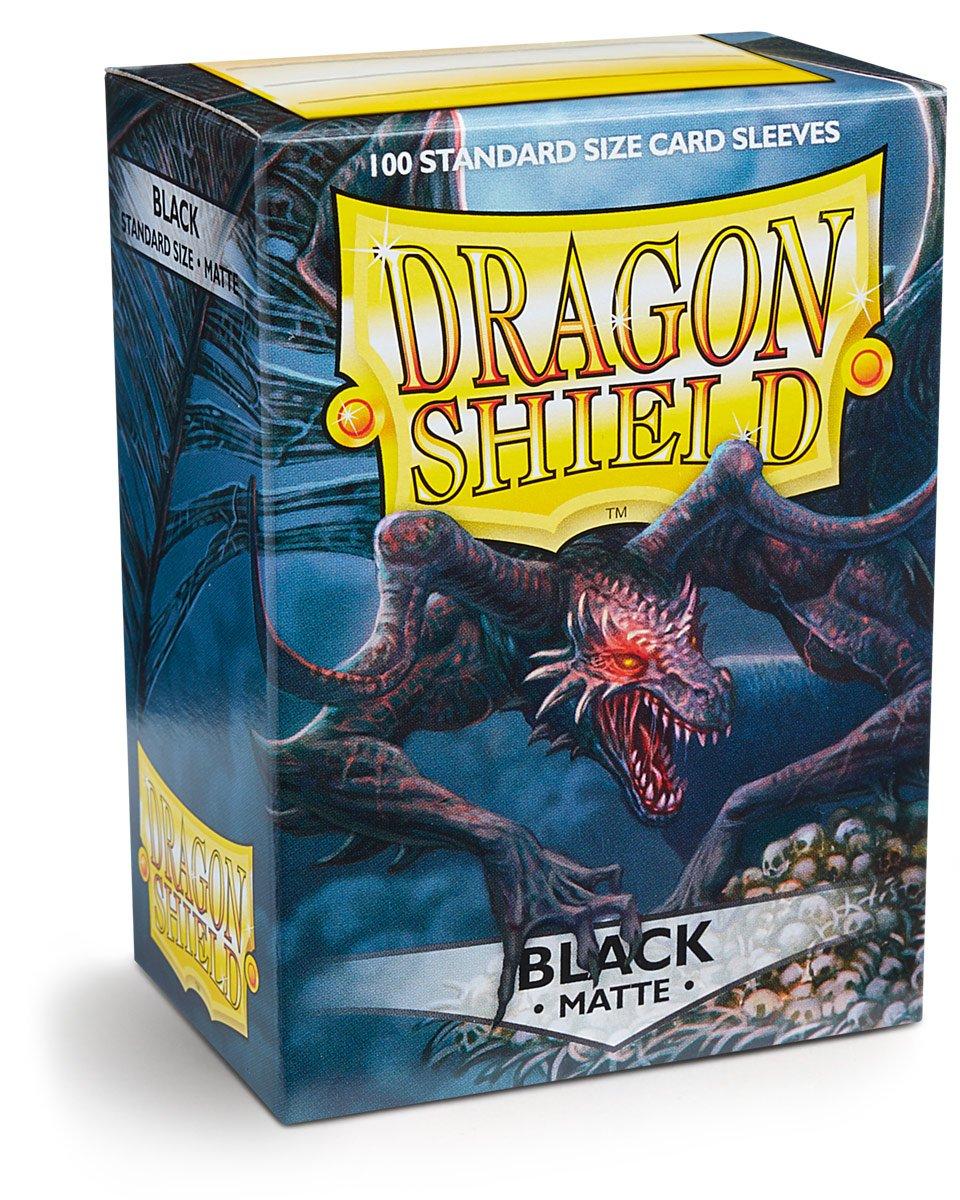 Protectores Dragon Shield Matte Black  (100 Ct.)