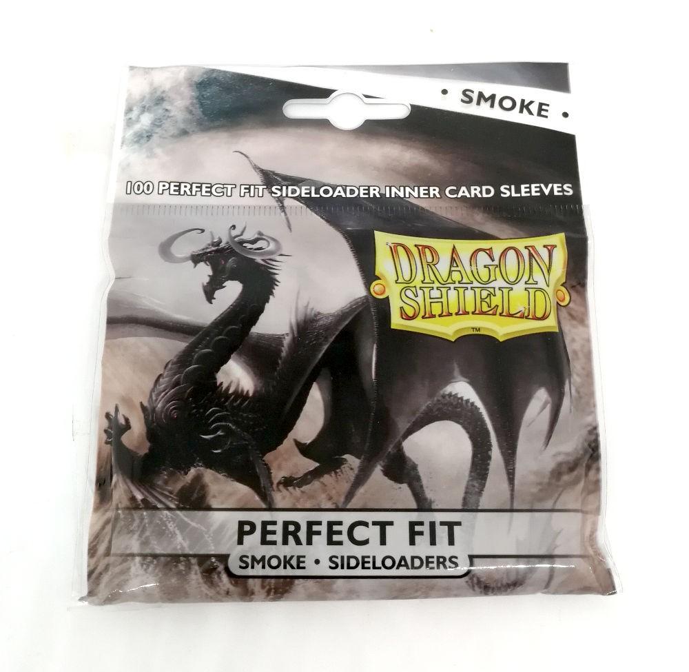 Dragon Shield Perfect Fit Smoke Sideloaders (100)
