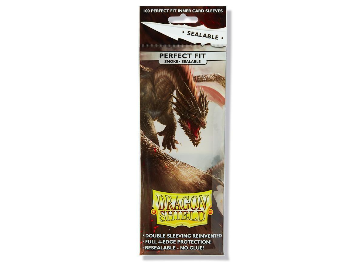 Dragon Shield Perfect Fit Sealable Smoke (100)