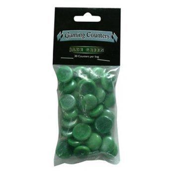 Gaming Counters Jade Green