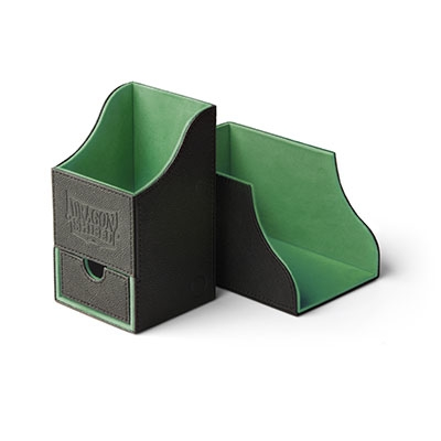 Deck Box Dragon Shield: Nest With Tray - Green 100+