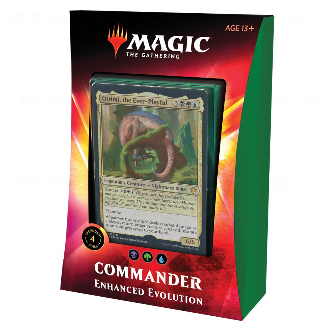 MTG Commander 2020 - Enhanced Evolution