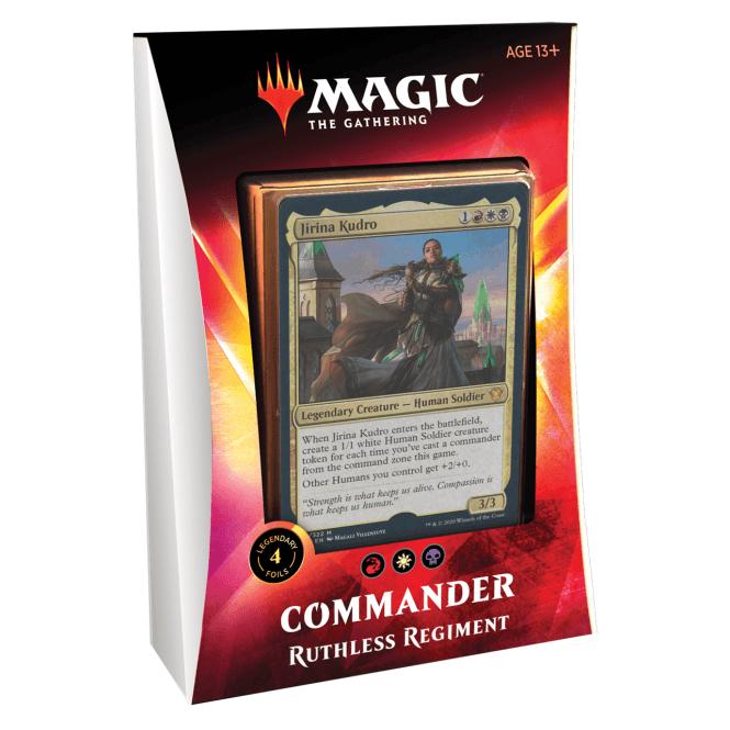 MTG Commander 2020 - Ruthless Regiment