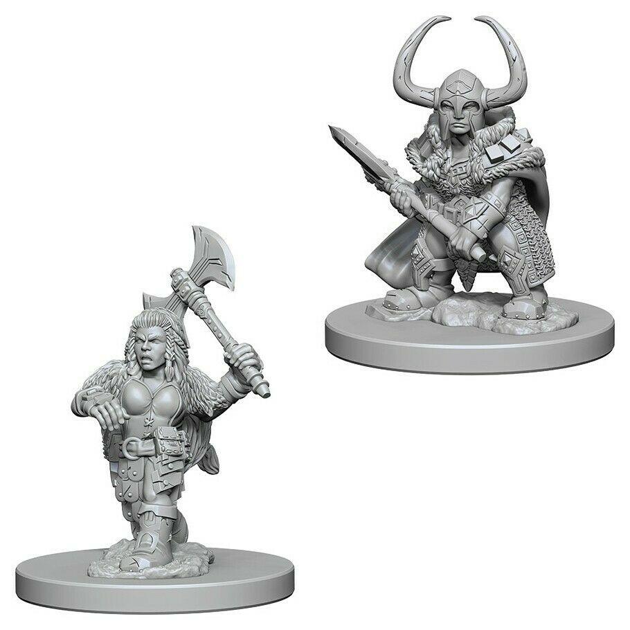 Miniaturas D&D Dwarf Barbarian