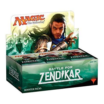 MTG Display Battle for Zendikar (Koreano)