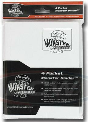 Monster 4 Pocket Matte White
