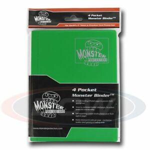 Monster 4 Pocket Matte Emerald Green