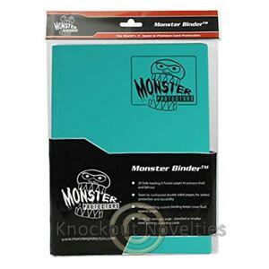 Monster Binder 9 Pocket Matte Teal