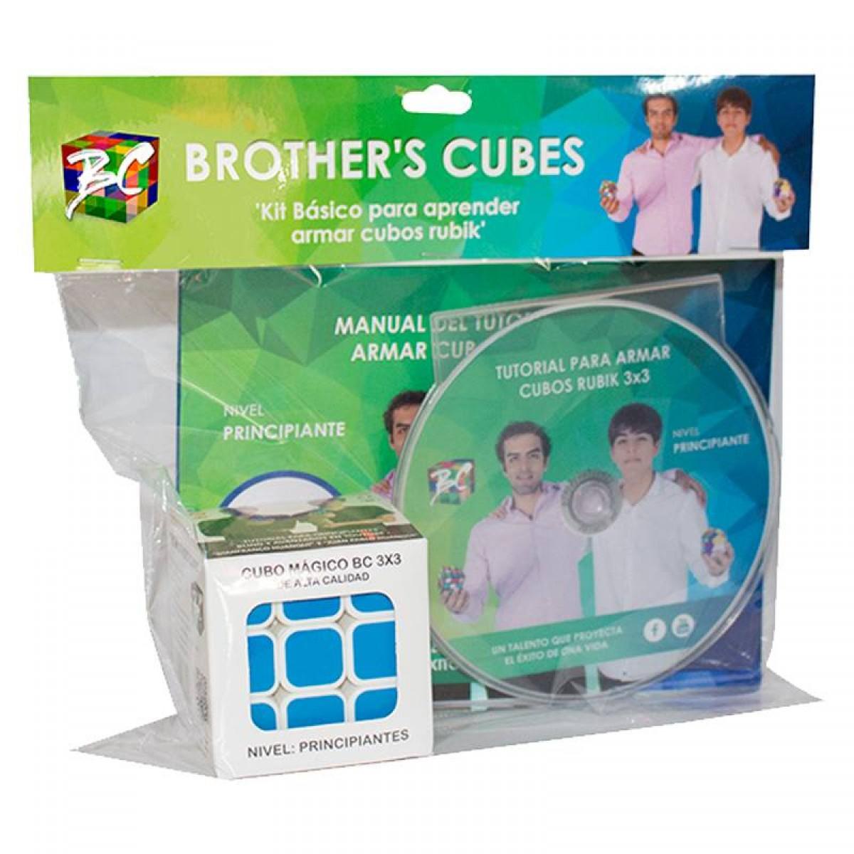 Cubo Rubik 3x3 Brothers Cubes