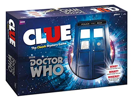 Clue Doctor Who