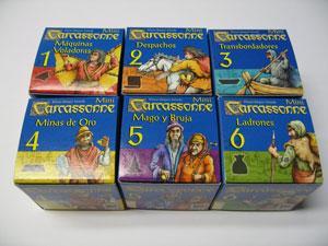 Carcassonne : Pack mini expansiones