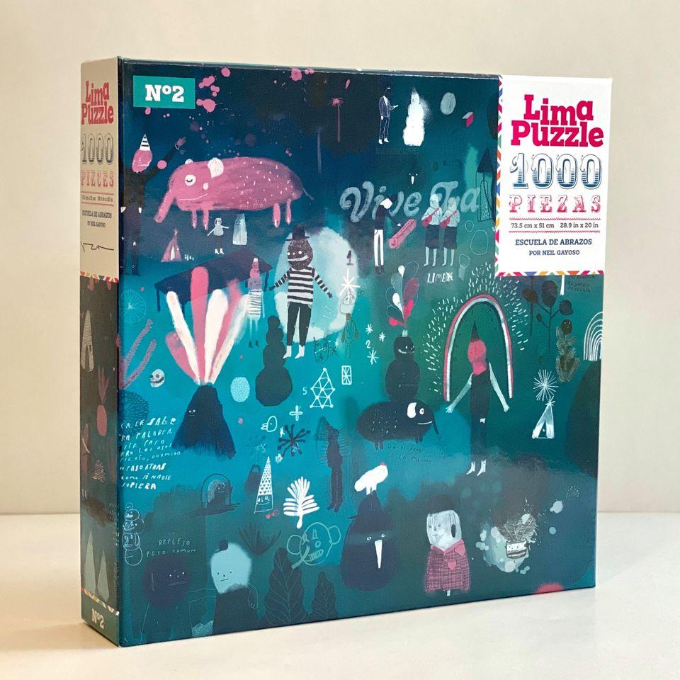 Lima Puzzle 1000 pzs, Escuela de Abrazos