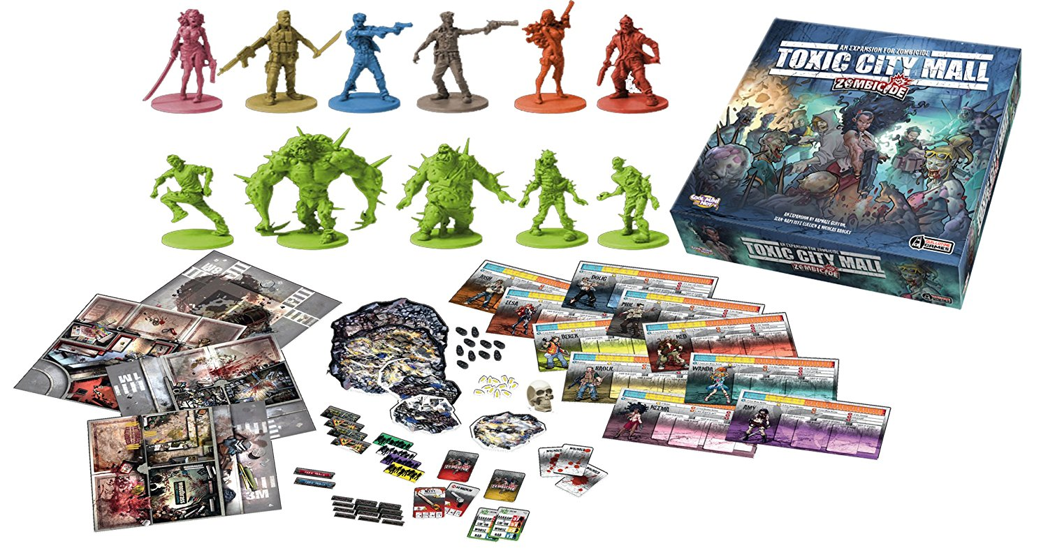 Zombicide : Toxic City Mall (Ing.)