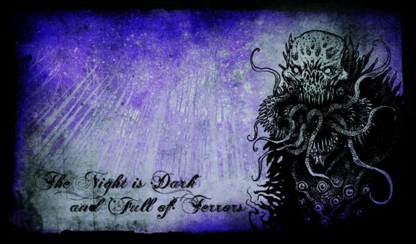 Playmat Legion Night is Dark