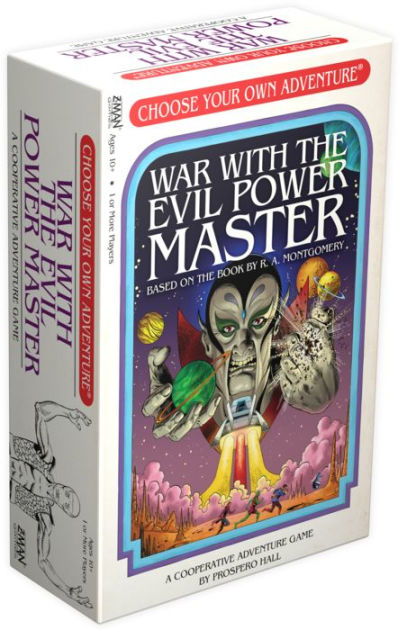 Choose Your Own Adventure : War with the Evil Power Master