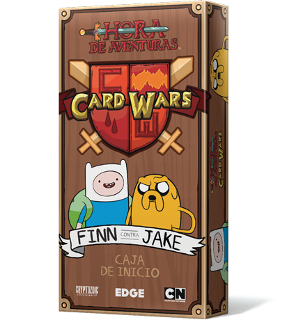 Adventure Time Card Wars Finn vs Jake