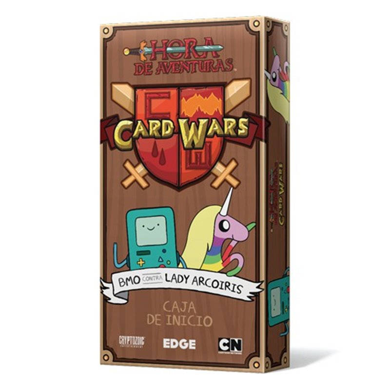 Adventure Time Card Wars BMO vs Lady Arcoiris