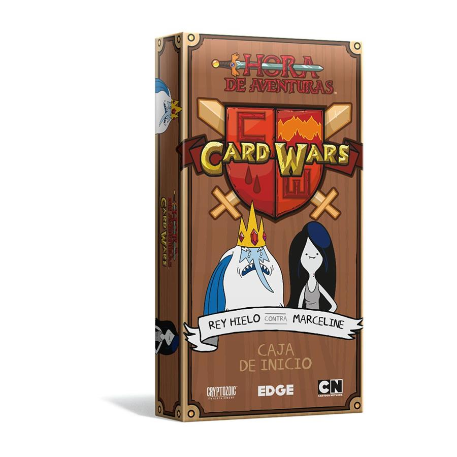 Adventure Time Card Wars Rey Hielo vs Marceline