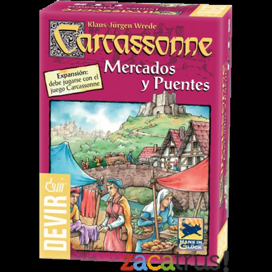 Carcassonne : Mercados y Puentes