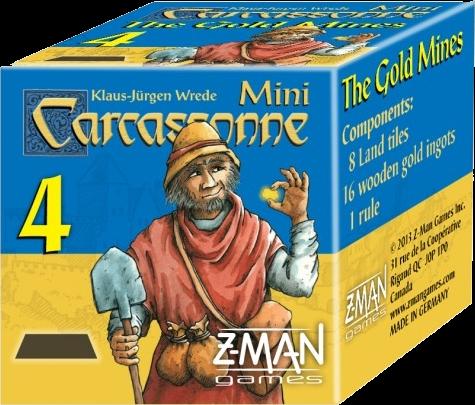 Carcassonne : Mini 4 Minas de Oro