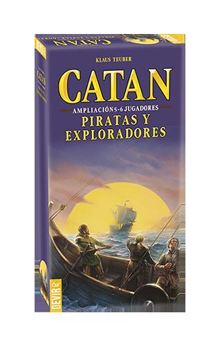 Catan : Piratas y Exploradores Ampliacion 5-6 Jugadores