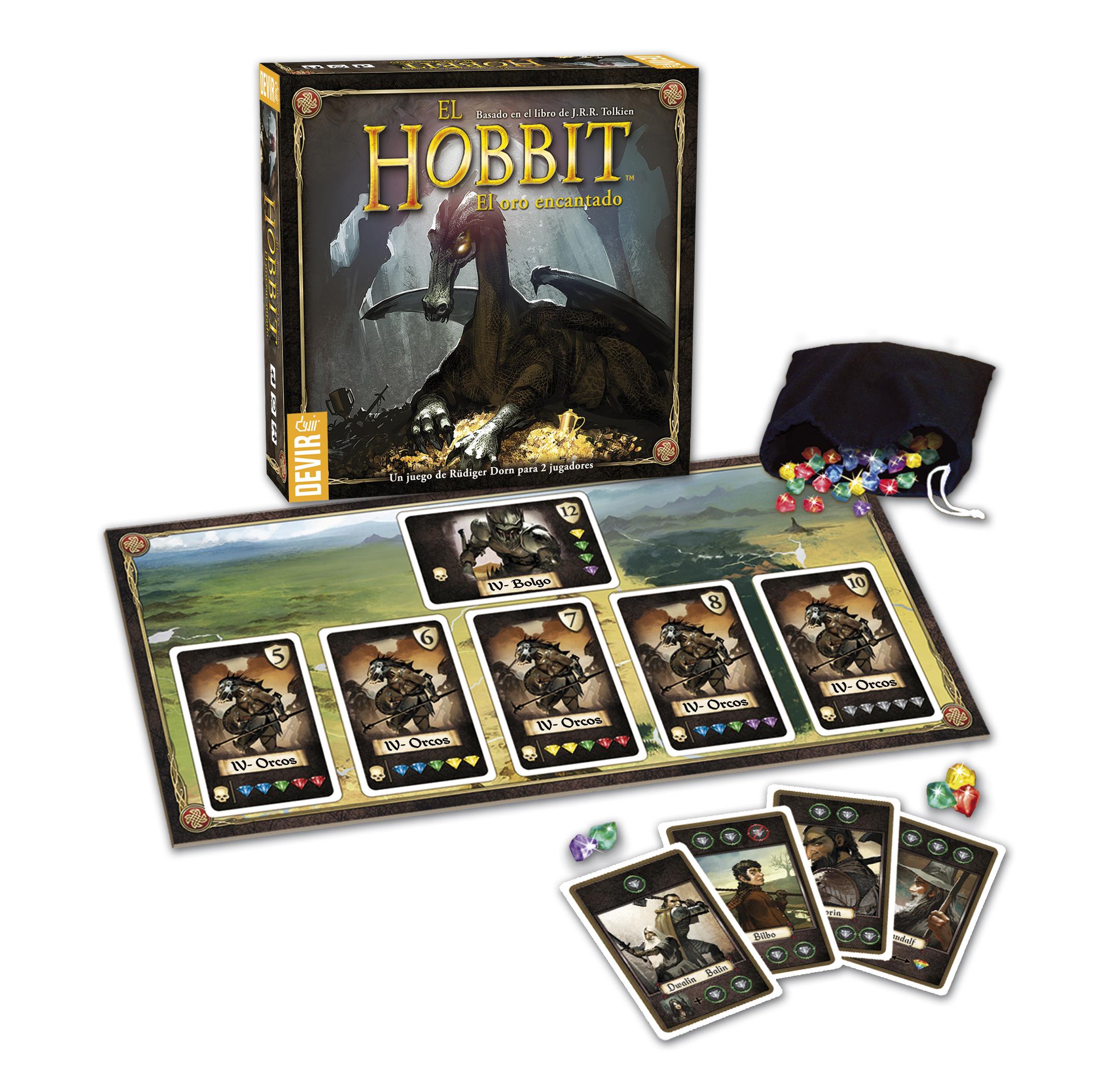 El Hobbit El Oro Encantado