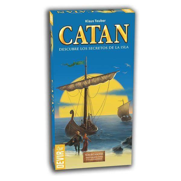 Catan : Navegantes ampliacion 5-6 jugadores
