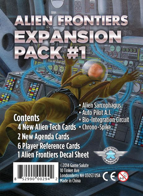 Alien Frontiers : Expansion Pack 1