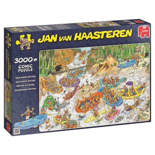 Jumbo 3000 pzs. Jan Van Haasteren, Wild Water Rafting