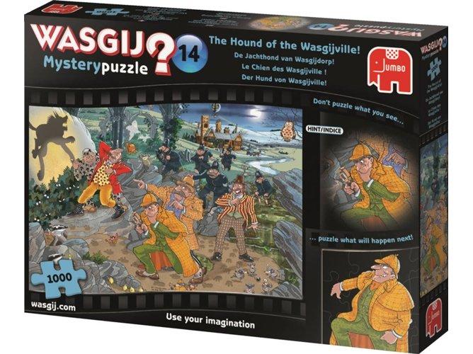 Jumbo 1000 pzs. WASGIJ, The Hound of the Wasgijville!