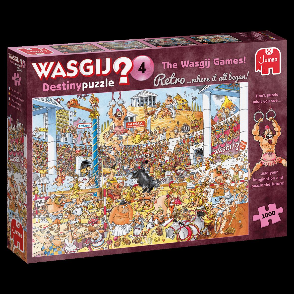 Jumbo 1000 pzs. WASGIJ, The Wasgij Games!