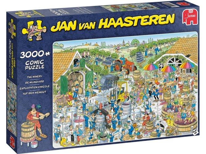 Jumbo 3000 pzs. Jan Van Haasteren, The Winery