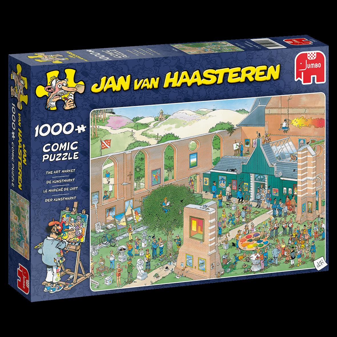 Jumbo 1000 pzs. Jan Van Haasteren, The Art Marker