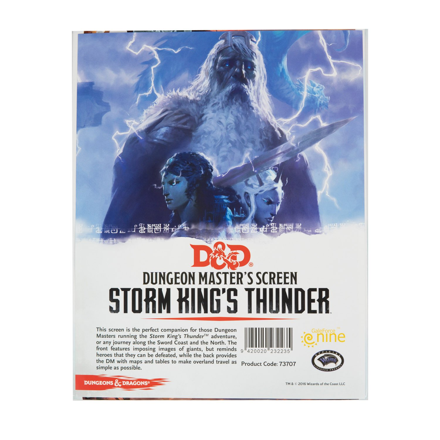 D&D 5ed: Dungeon Master Screen - Storms King's