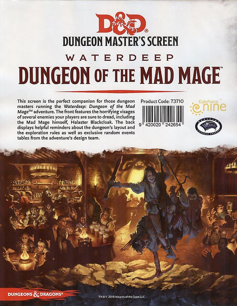 D&D 5ed: Dungeon Master Screen - Dungeon of the Mad Mage