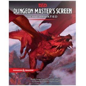 D&D 5ed: Dungeon Master Screen - Reincarnated