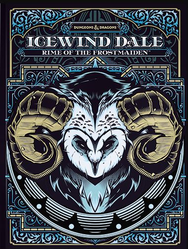 D&D Icewind Dale - Rime of the Frostmaiden (Alternate Cover)