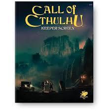 Call of Cthulhu 7th ed: Keeper Screen Pack