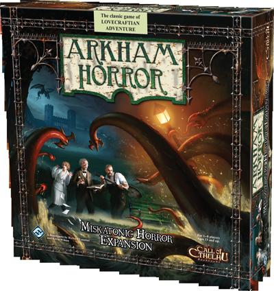 Arkham Horror : Miskatonic Horror (Ing.)