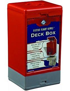 Deck Box FF Hard Rojo