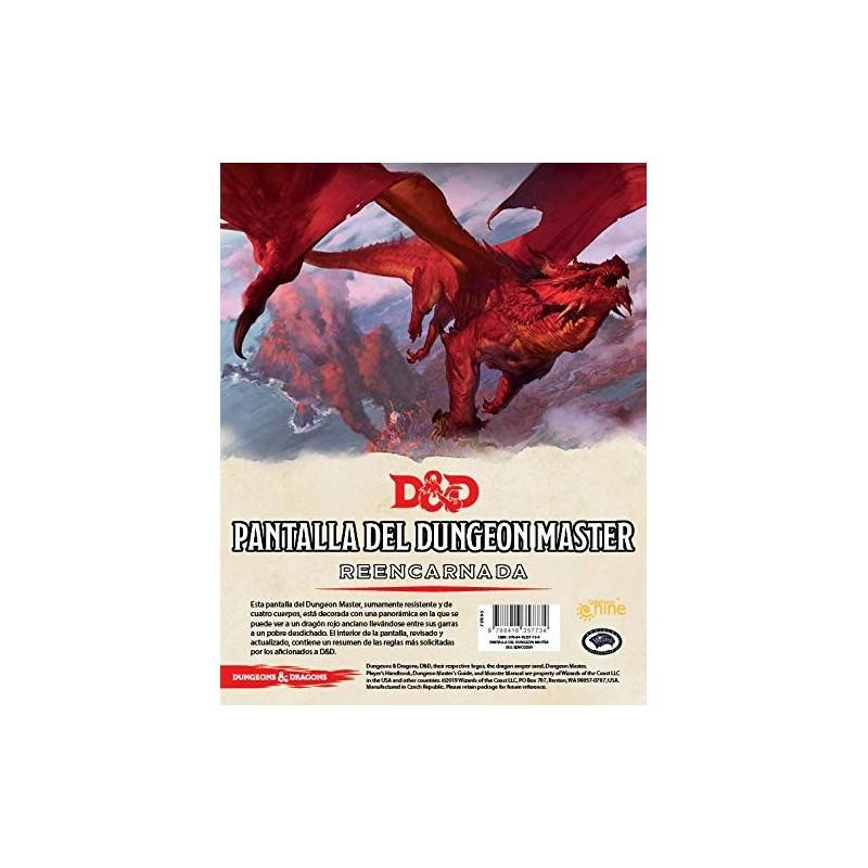 D&D 5ed: Pantalla del Dungeon Master - Reencarnada