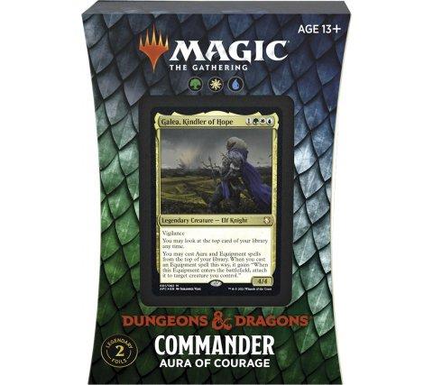 MTG Commander AFR -  Aura of Courage